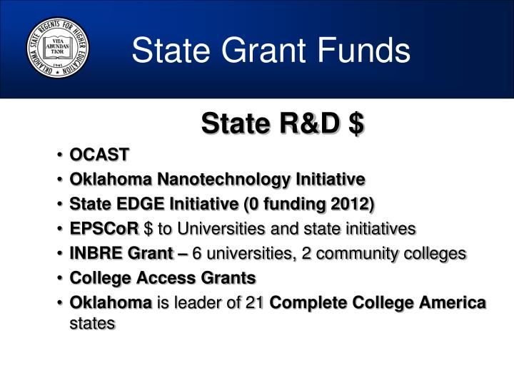 State Grant Funds