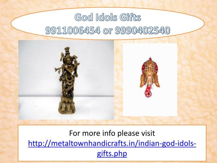 God Idols Gifts