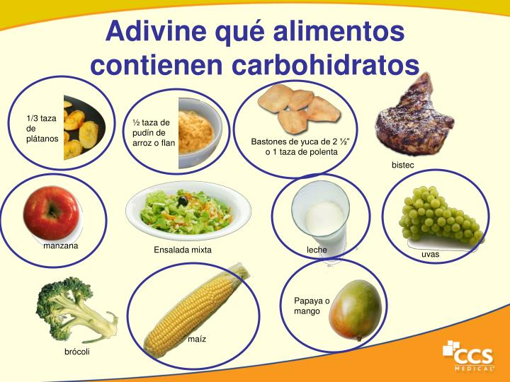 Ppt contemos los carbohidratos powerpoint presentation id 4756794 - Que alimentos son carbohidratos ...