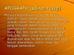 apograph salinan resep