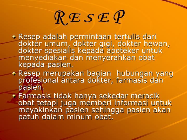 R E S E P
