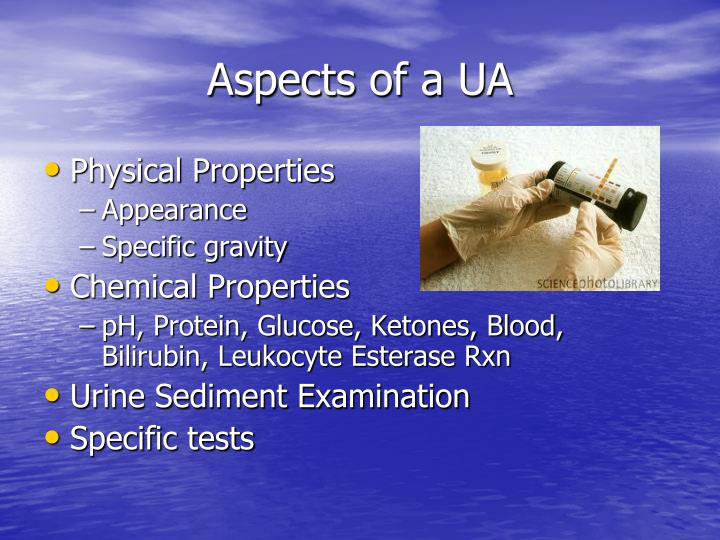 Aspects of a UA