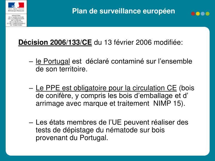 Plan de surveillance européen