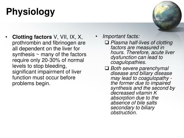 Clotting factors