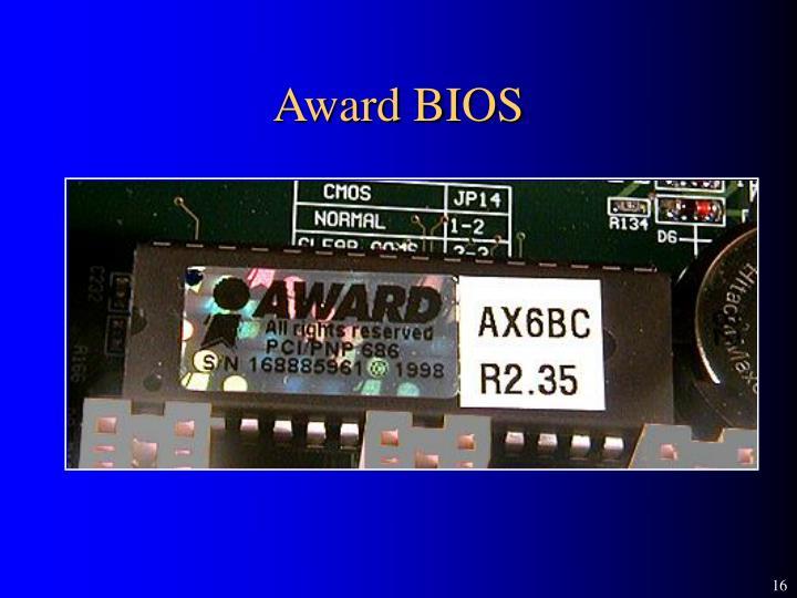 Award BIOS