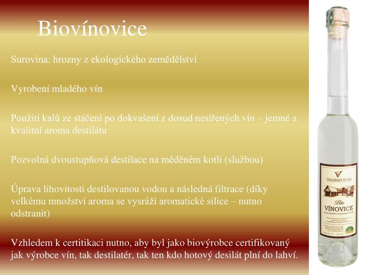 Biovínovice