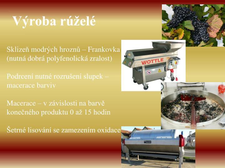 Výroba rúželé