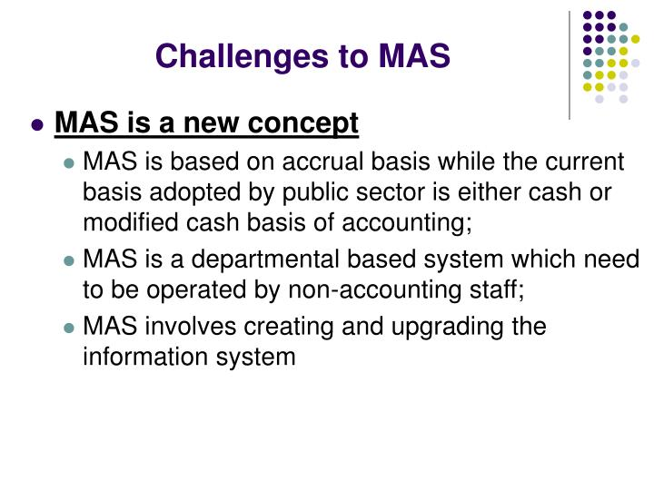 Challenges to MAS