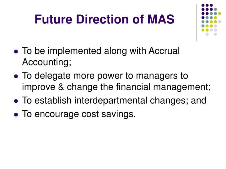 Future Direction of MAS