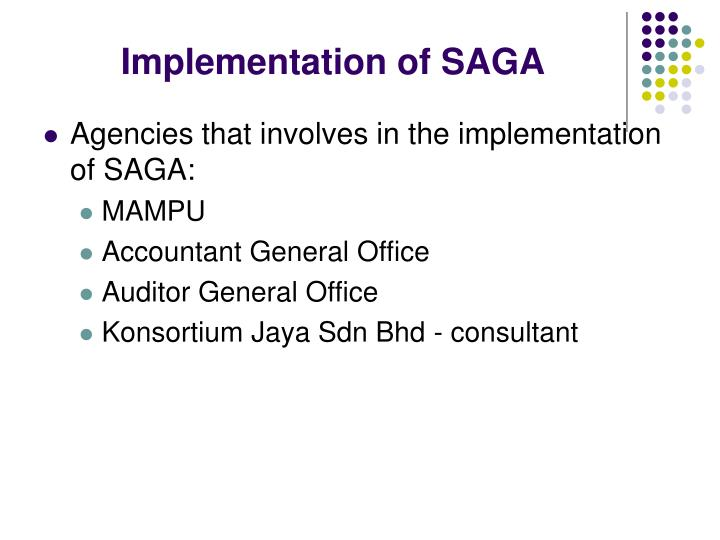 Implementation of SAGA