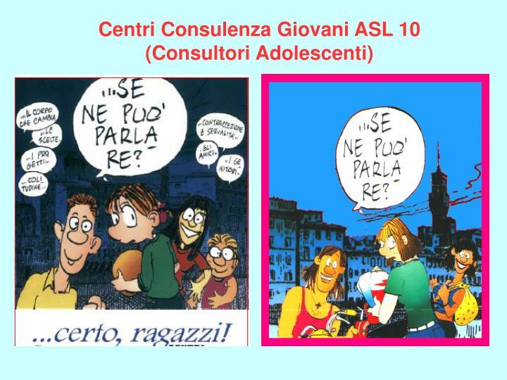Centri Consulenza Giovani ASL 10