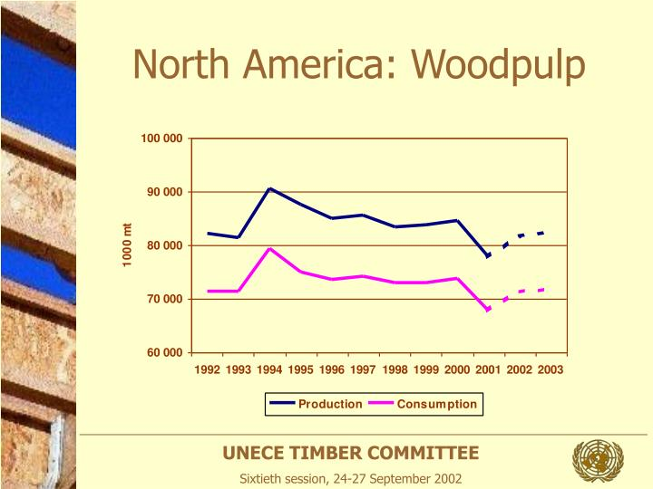North America: Woodpulp