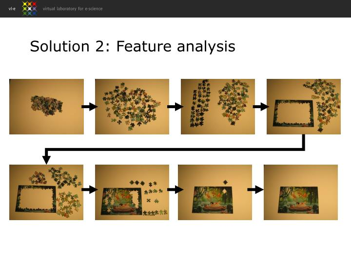 Solution 2: Feature analysis