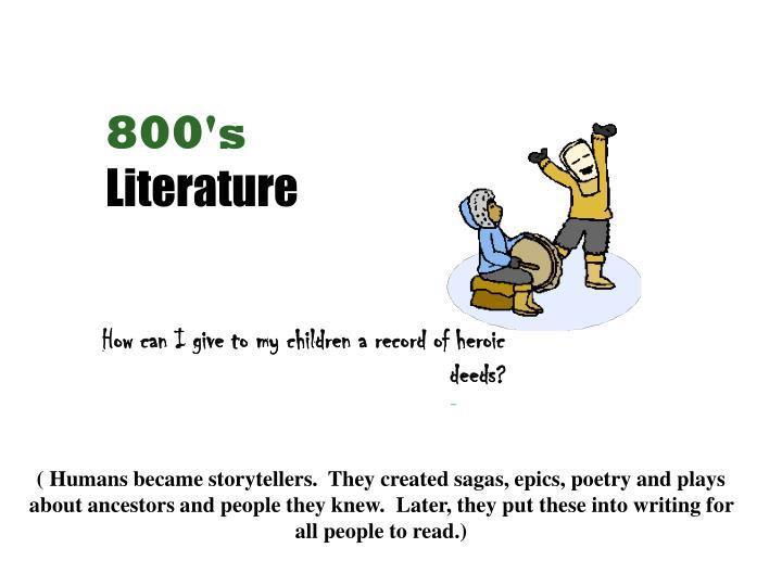 800's