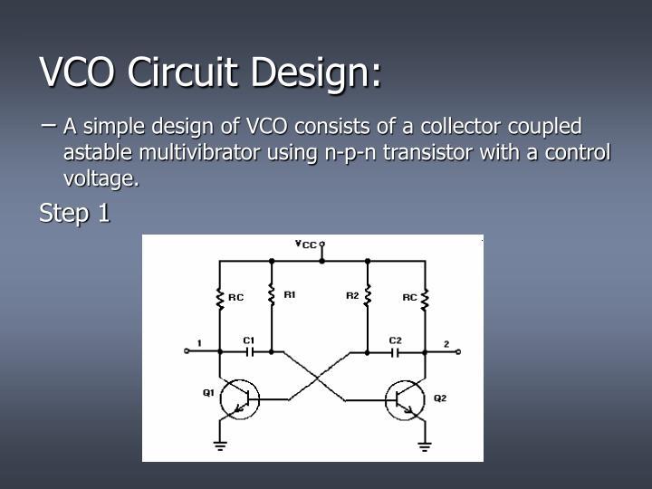 VCO Circuit Design: