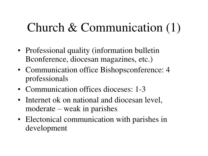 Church & Communication (1)