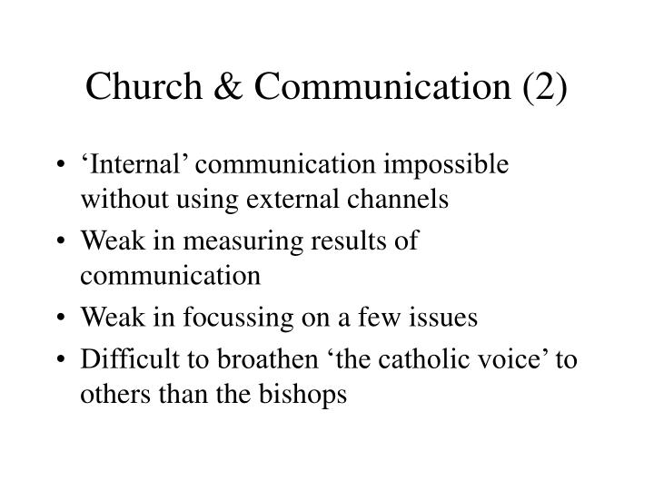 Church & Communication (2)