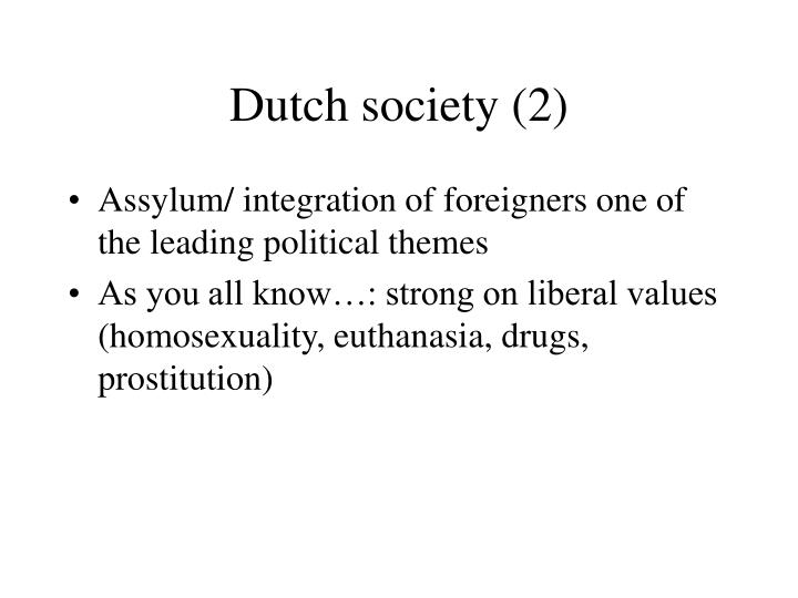 Dutch society 2