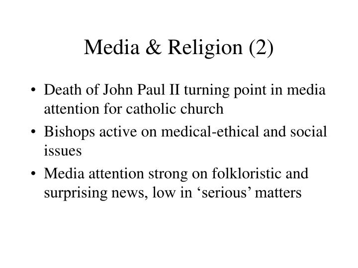 Media & Religion (2)