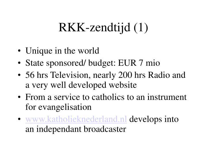 RKK-zendtijd (1)