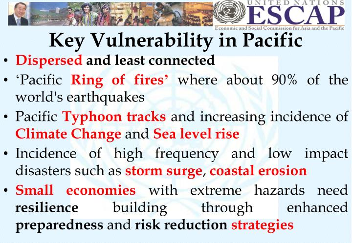 Key Vulnerability in Pacific