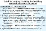 satellite imagery training for building disaster resilience in pacific1