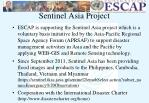 sentinel asia project