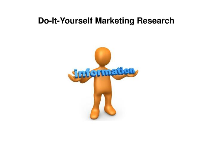 Do-It-Yourself Marketing Research