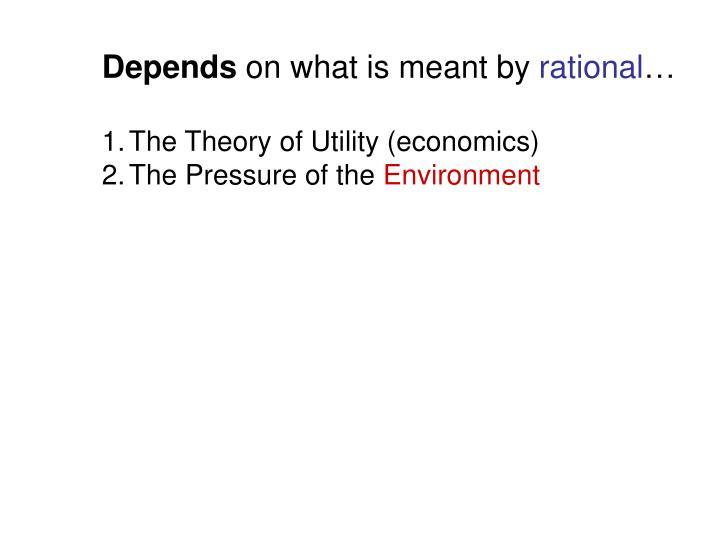 Depends