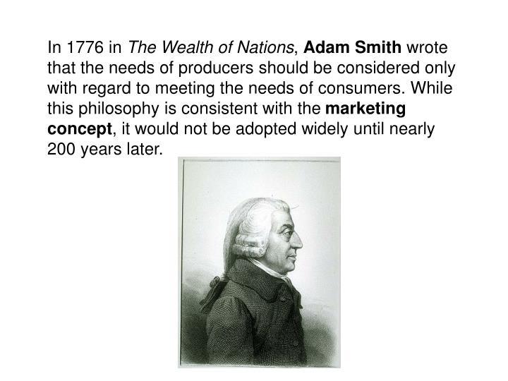 In 1776 in