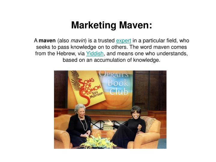Marketing Maven: