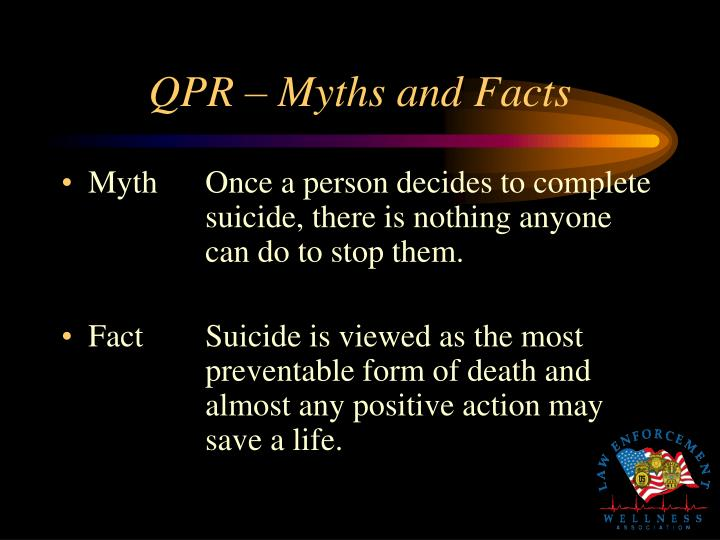 QPR – Myths and Facts