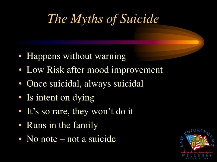 The Myths of Suicide