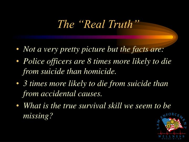"The ""Real Truth"""