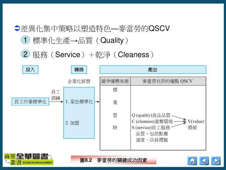 標準化生產→品質(
