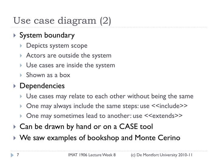 Use case diagram (2)