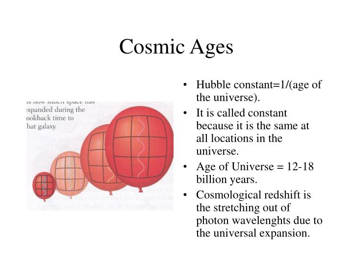Cosmic Ages