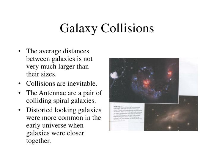 Galaxy Collisions