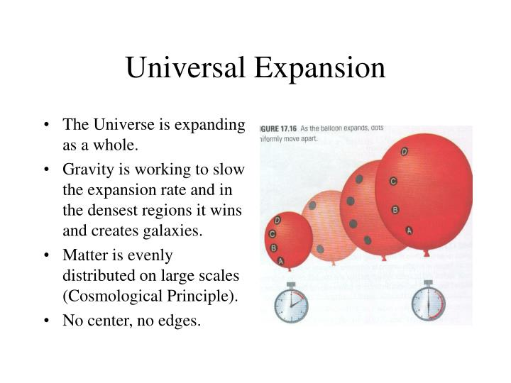 Universal Expansion
