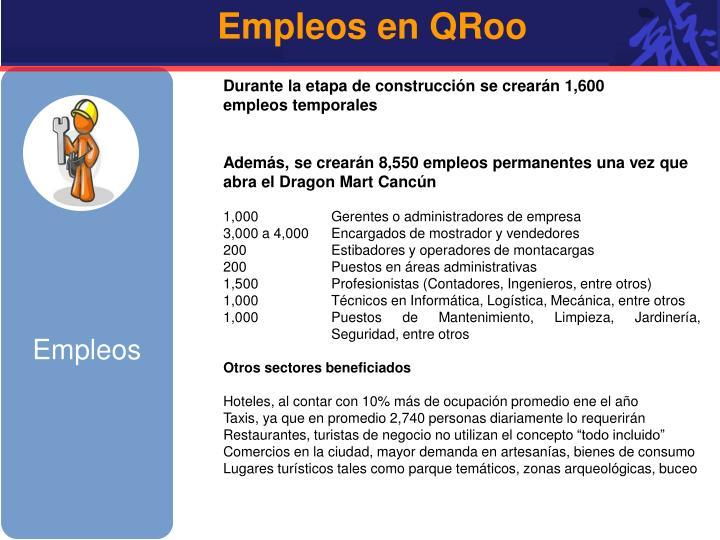 Empleos en QRoo
