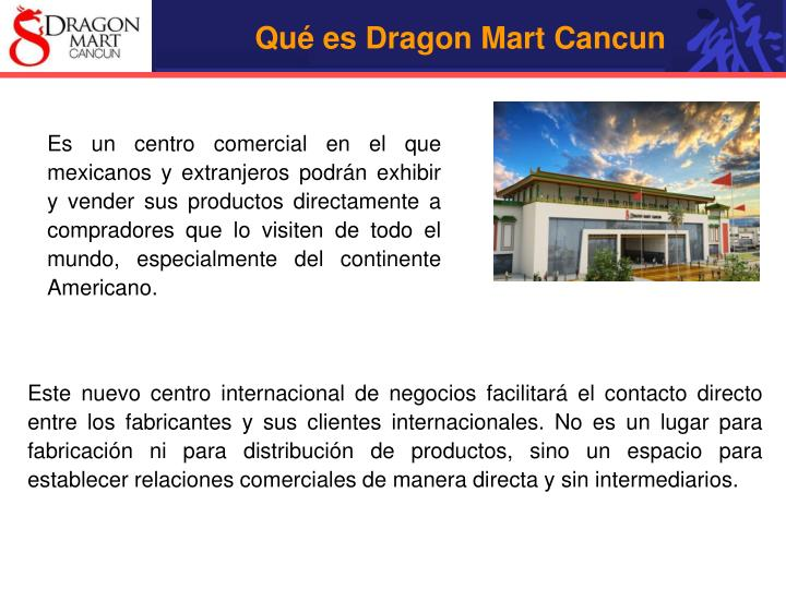 Qué es Dragon Mart Cancun