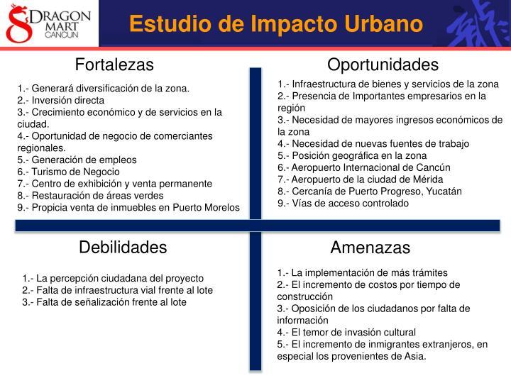Estudio de Impacto Urbano