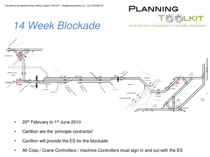 14 Week Blockade