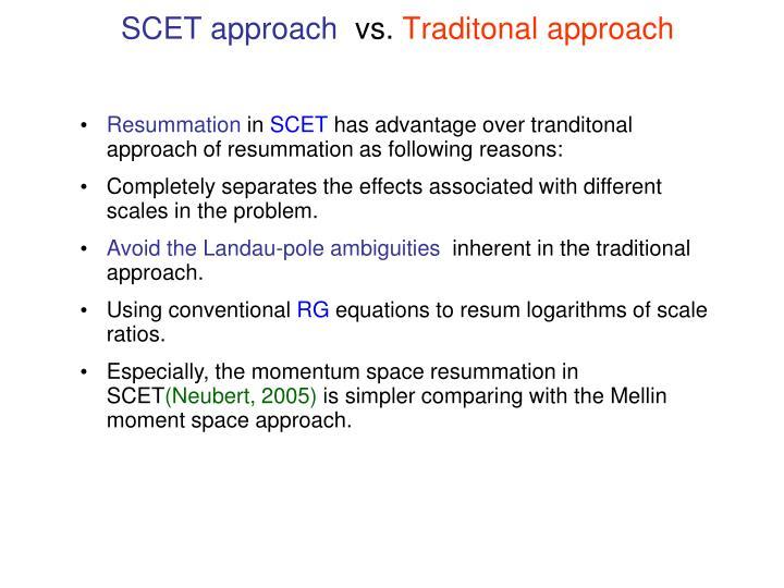 SCET approach
