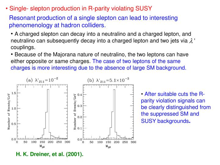 Single- slepton production in R-parity violating SUSY