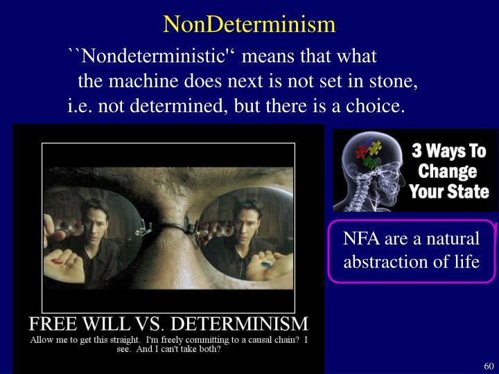 NonDeterminism