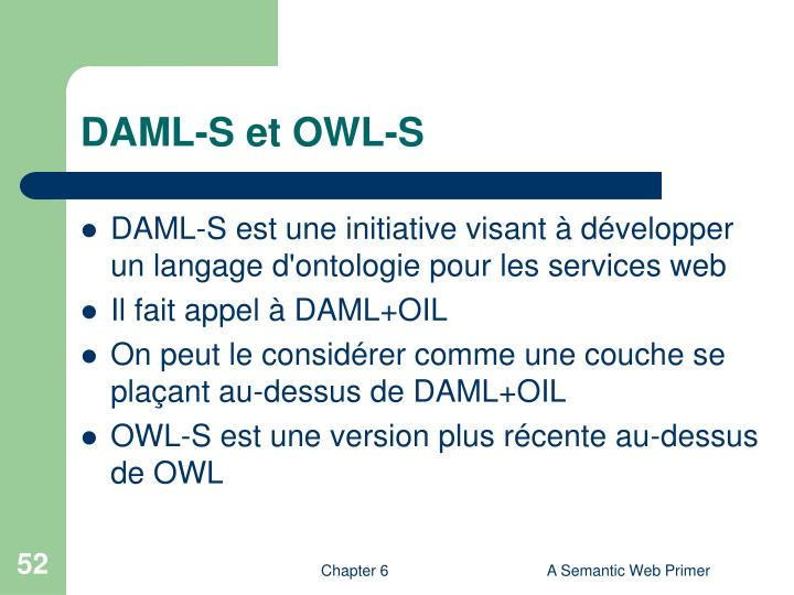 DAML-S et OWL-S