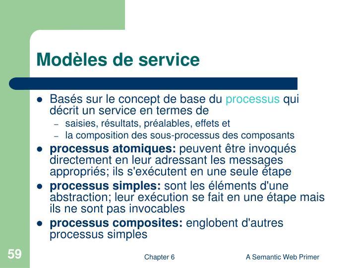 Modèles de service