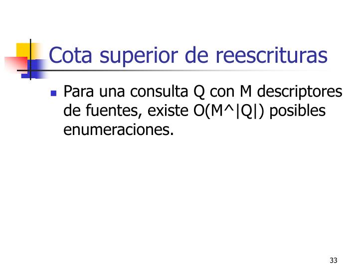 Cota superior de reescrituras