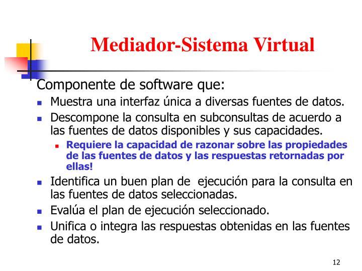 Mediador-Sistema Virtual